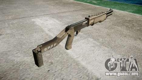 Ружье Franchi SPAS-12 a-TACS AU para GTA 4 segundos de pantalla