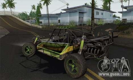 Devilbwoy Buggy para GTA San Andreas left
