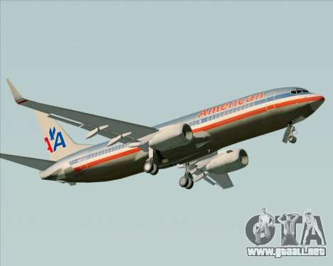 Boeing 737-800 American Airlines para GTA San Andreas left