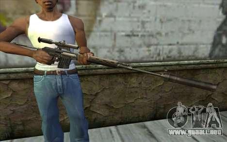 SDSM para GTA San Andreas tercera pantalla