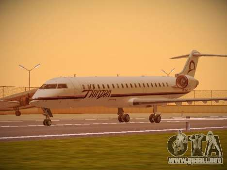 Bombardier CRJ-700 Horizon Air para GTA San Andreas