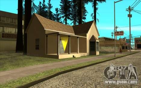 Nueva casa de CJ en Angel Pine para GTA San Andreas segunda pantalla