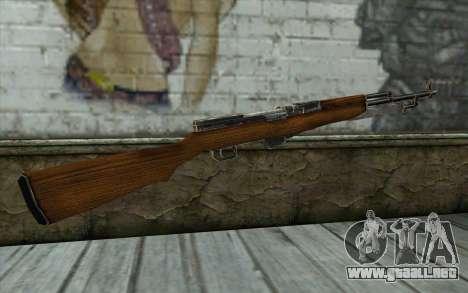 СКС (Battlefield: Vietnam) para GTA San Andreas segunda pantalla
