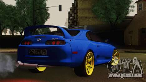 Toyota Supra Twin Turbo para GTA San Andreas left
