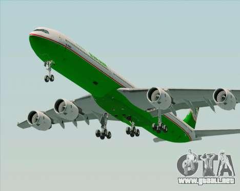 Airbus A340-600 EVA Air para el motor de GTA San Andreas