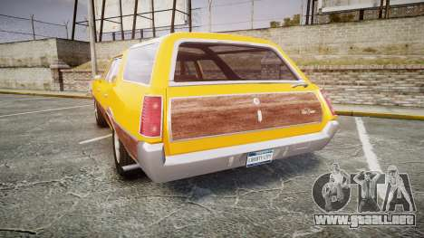 Oldsmobile Vista Cruiser 1972 Rims2 Tree3 para GTA 4 Vista posterior izquierda
