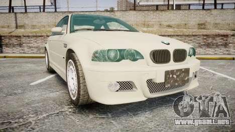 BMW M3 E46 2001 Tuned Wheel White para GTA 4