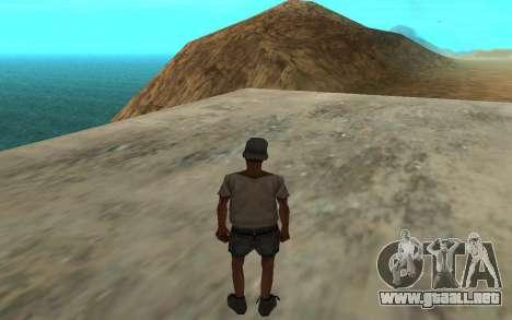 El uso automático de drogas para GTA San Andreas segunda pantalla