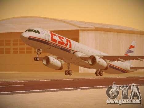 Airbus A321-232 Czech Airlines para GTA San Andreas