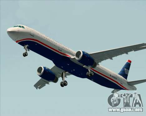 Airbus A321-200 US Airways para GTA San Andreas left