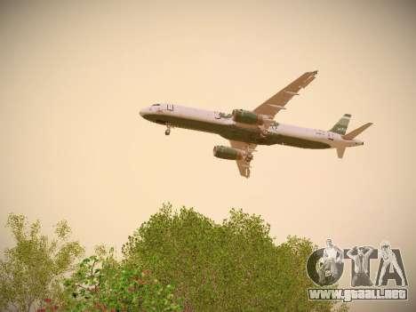 Airbus A321-232 jetBlue NYJets para el motor de GTA San Andreas
