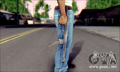 Pistola De Sudeva para GTA San Andreas tercera pantalla
