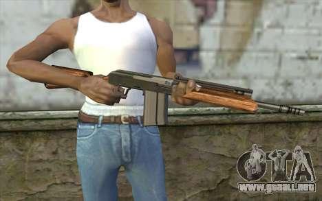 Saiga (Armas De Fuego) para GTA San Andreas tercera pantalla