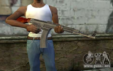 StG-44 from Day of Defeat para GTA San Andreas tercera pantalla