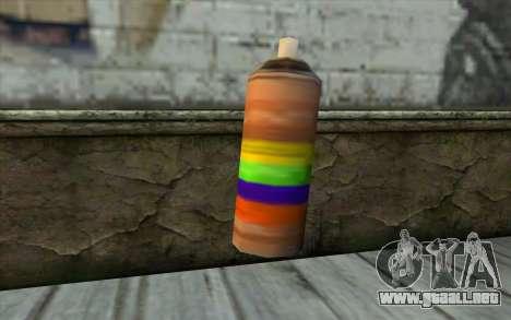 Spray Can from Beta Version para GTA San Andreas segunda pantalla