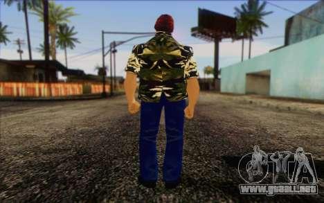 Vercetti Gang from GTA Vice City Skin 2 para GTA San Andreas segunda pantalla