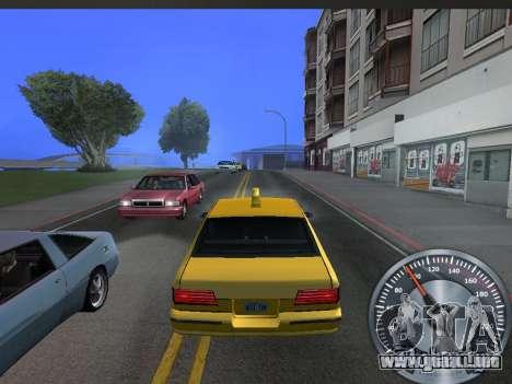 Metal clásico velocímetro para GTA San Andreas