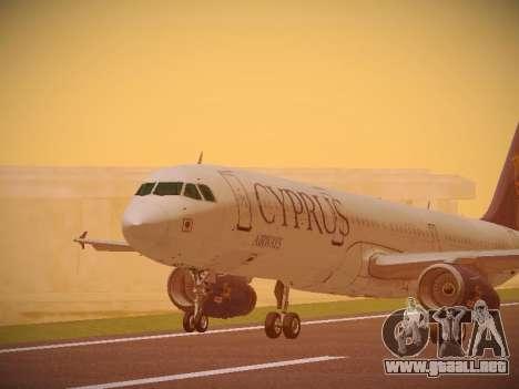 Airbus A321-232 Cyprus Airways para GTA San Andreas left