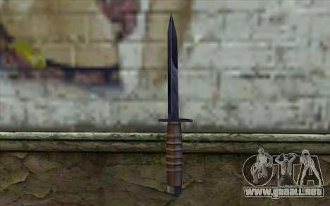 American cuchillo para GTA San Andreas