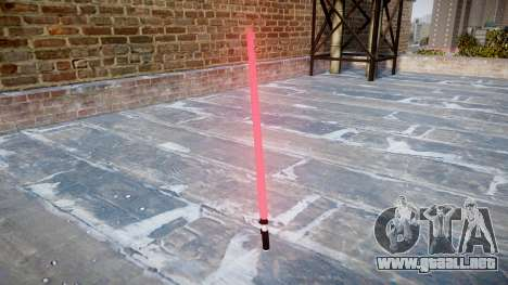 Espada láser para GTA 4 segundos de pantalla