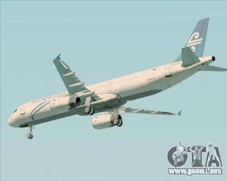 Airbus A321-200 Air New Zealand para el motor de GTA San Andreas