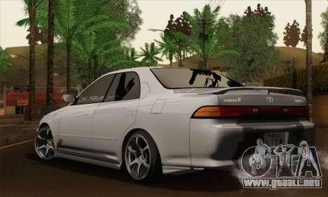 Toyota Mark 2 para GTA San Andreas left