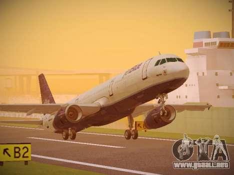 Airbus A321-232 jetBlue Batty Blue para GTA San Andreas