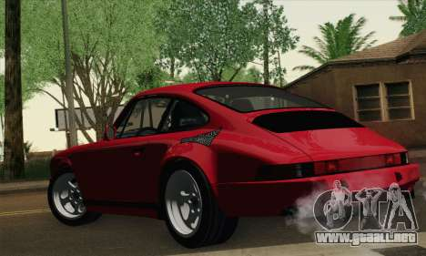 RUF CTR Yellowbird 1987 Tunable para GTA San Andreas left