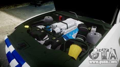 Ford Mustang GT 2014 Custom Kit PJ2 para GTA 4 vista lateral