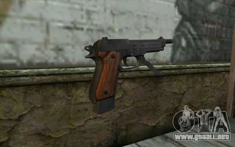 Beretta 93R para GTA San Andreas segunda pantalla