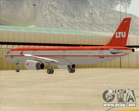 Airbus A321-200 LTU International para GTA San Andreas
