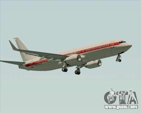 Boeing 737-800 EG&G - Janet para visión interna GTA San Andreas