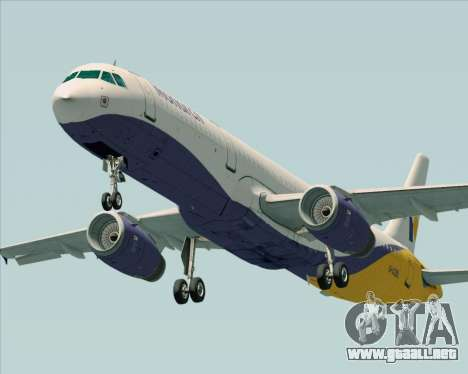 Airbus A321-200 Monarch Airlines para GTA San Andreas left