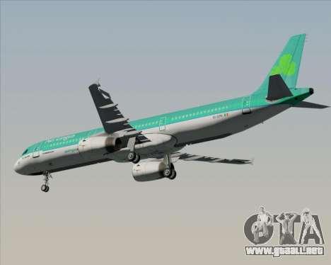 Airbus A321-200 Aer Lingus para visión interna GTA San Andreas
