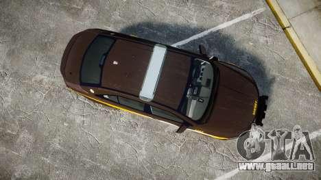 Ford Taurus Sheriff [ELS] Virginia para GTA 4 visión correcta