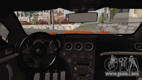 Alfa Romeo Brera RS GT-4 Mod para la visión correcta GTA San Andreas
