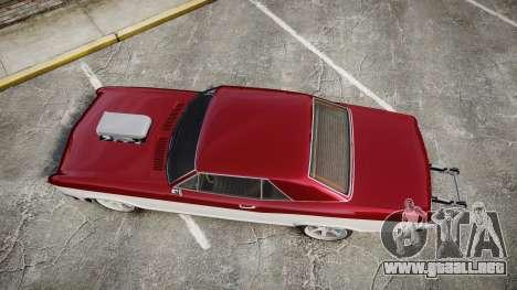 GTA V Albany Buccaneer Gen. II para GTA 4 visión correcta