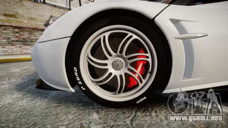 Pagani Huayra 2013 [RIV] Carbon para GTA 4 vista hacia atrás