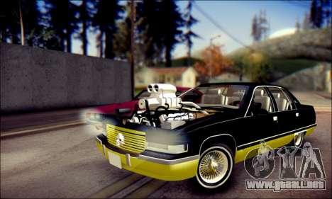 Cadillac Fleetwood 1993 Lowrider para GTA San Andreas