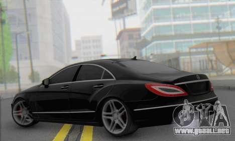 Mercedes-Benz CLS 63 para GTA San Andreas left