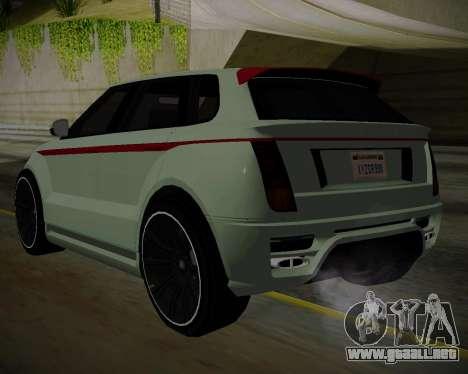 Huntley S para GTA San Andreas left