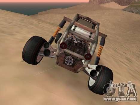 Actualizado Bandito para GTA San Andreas para GTA San Andreas vista posterior izquierda
