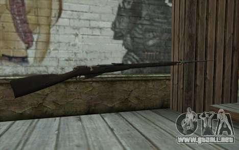 Mosin-v14 para GTA San Andreas segunda pantalla