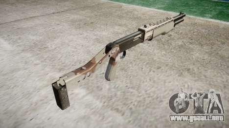 Ружье Franchi SPAS-12 Choco para GTA 4 segundos de pantalla