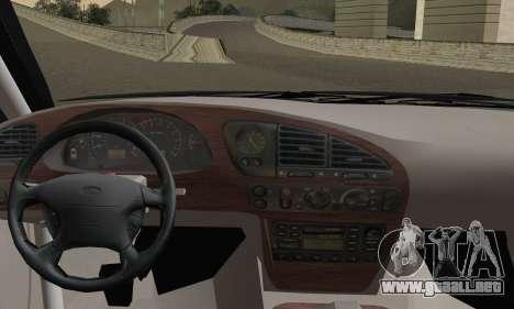 Ford Sierra Scorpion 4x4 RS Cosworth para GTA San Andreas vista posterior izquierda