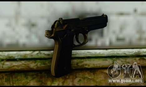 Beretta M9 para GTA San Andreas segunda pantalla