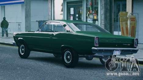 Ford Fairlane 500 1966 para GTA 4 left