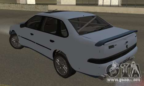 Ford Sierra Scorpion 4x4 RS Cosworth para GTA San Andreas left