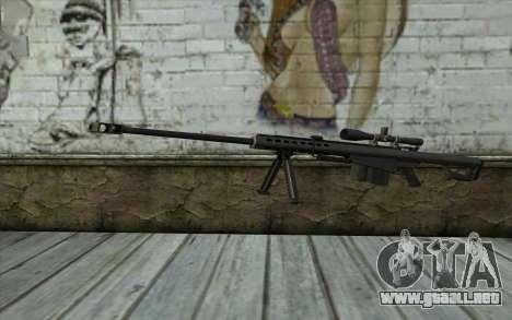 M107 para GTA San Andreas