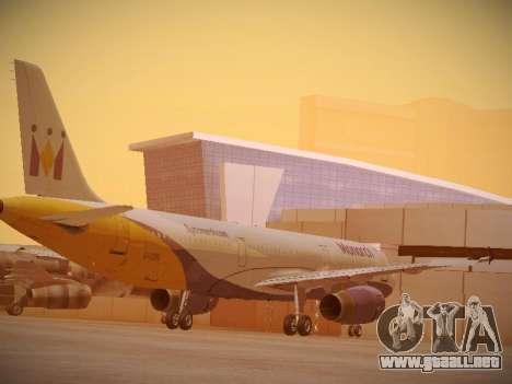 Airbus A321-232 Monarch Airlines para la visión correcta GTA San Andreas